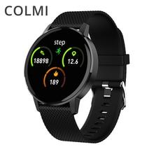 Colmi relógio inteligente t4 à prova d água, smartwatch bracelete com monitoramento da frequência cardiaca e pressão sanguínea, lembrete de ligação, acompanhamento fitness, para android e ios