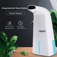 300ml Automatic Soap Dispenser Touchless Induction Foam Soap Dispenser Portable Hand Soap Household Kitchen Soap Dispenser