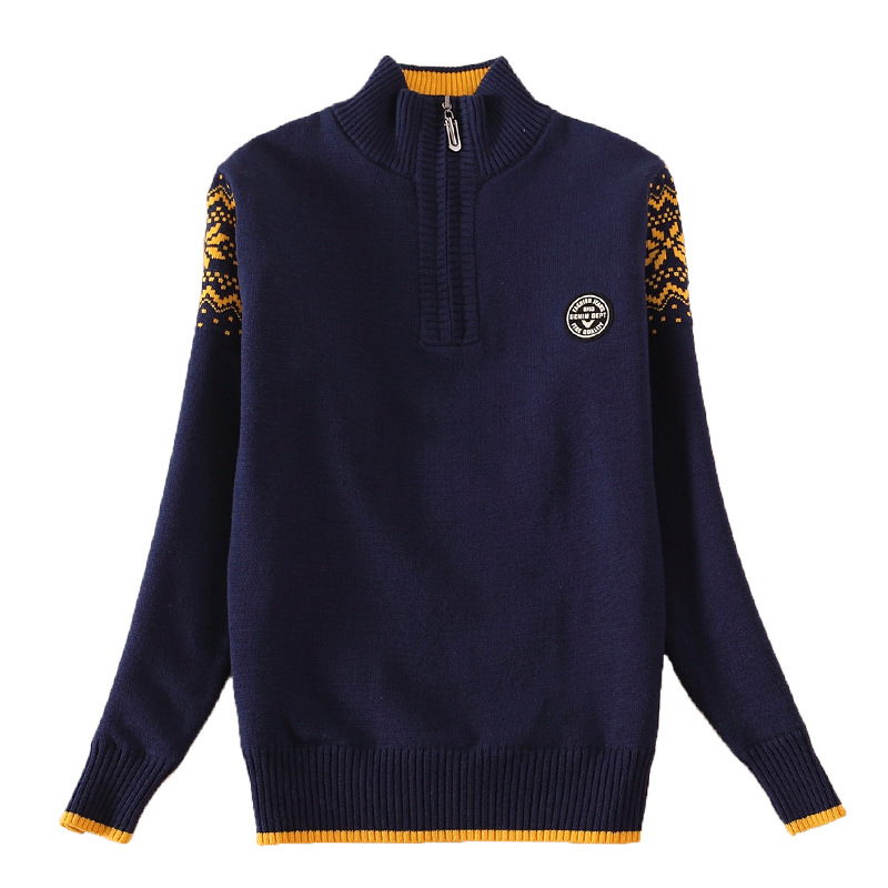 Boy's clothing Winter Cotton products clothing Boy's Sweater  pullover Sweater  Kids clothes children's Sweater winter Keep warm 6