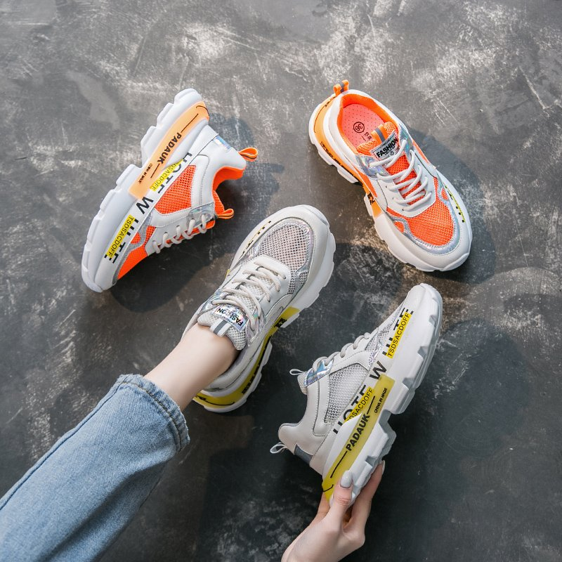 Trend Women Sneakers High Quality Walking Shoes 2020 Summer New Women's Running Shoes Light Breathable Jogging Sports Shoes
