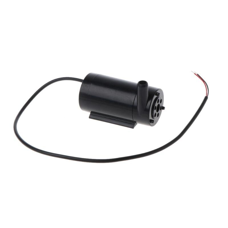 3L/мин мини электрический водяной погружной насос при напряжении от 5 в до 12 В LED подсветка для аквариума мини фонтан для бассейна