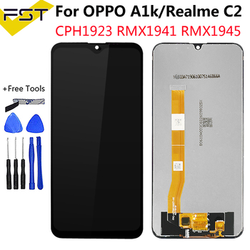6.1''For Oppo A1k CPH1923 / For Oppo Realme C2 RMX1941 RMX1945 LCD Display+Touch Screen Digitizer Assembly Spare parts+Tools 1