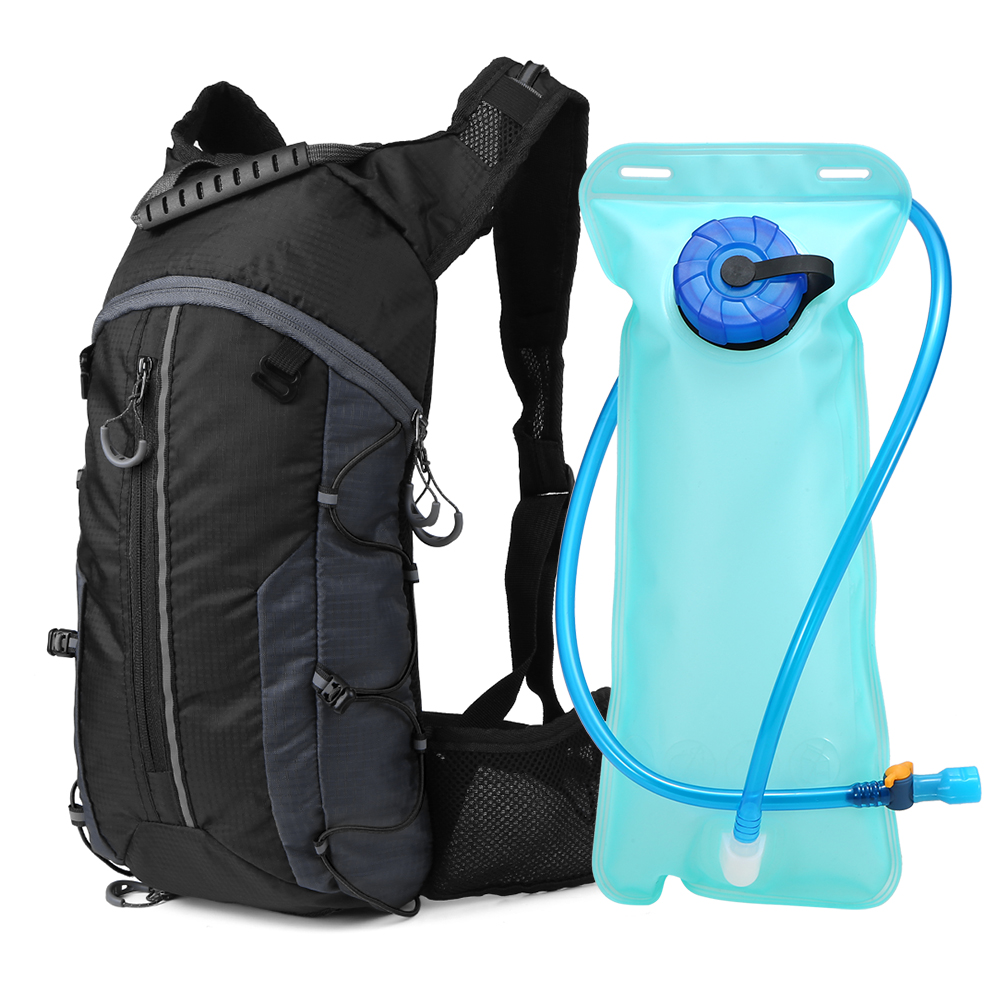 2L Sports Water Bladder Bag Backpack Hydration Cycling Pack Hiking Camping Pouch