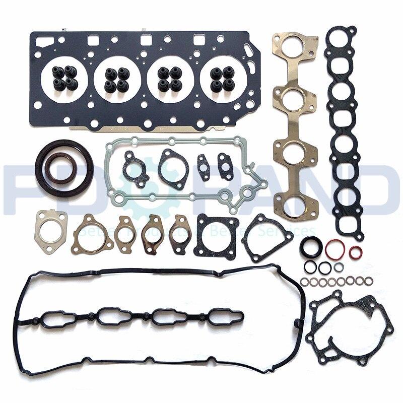 D4CB Engine Complete Gasket Set K0AH110270A  For Hyundai H-1 H200 Starex Porter 2497cc 2006- & For KIA Sorento 2.5 CRDI