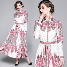 Женское повседневное Плиссированное Платье дизайнерское подиумное