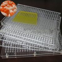 Capsule Filling Plate Packaging Machine 400 holes Manual Capsule Filling Machine Capsule Filler + Tamping Tool
