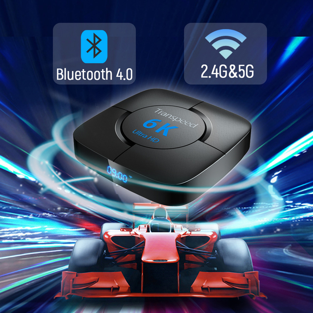 Android 10.0 Bluetooth TV Box Google Voice Assistant  6K 3D Wifi 2.4G&5.8G 4GB RAM 64G Play Store Very Fast BoxTop Box 4