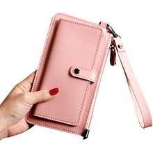 Small Wallet Handbags Purses Clutch-Bag Multi-Card Women Long Luxury