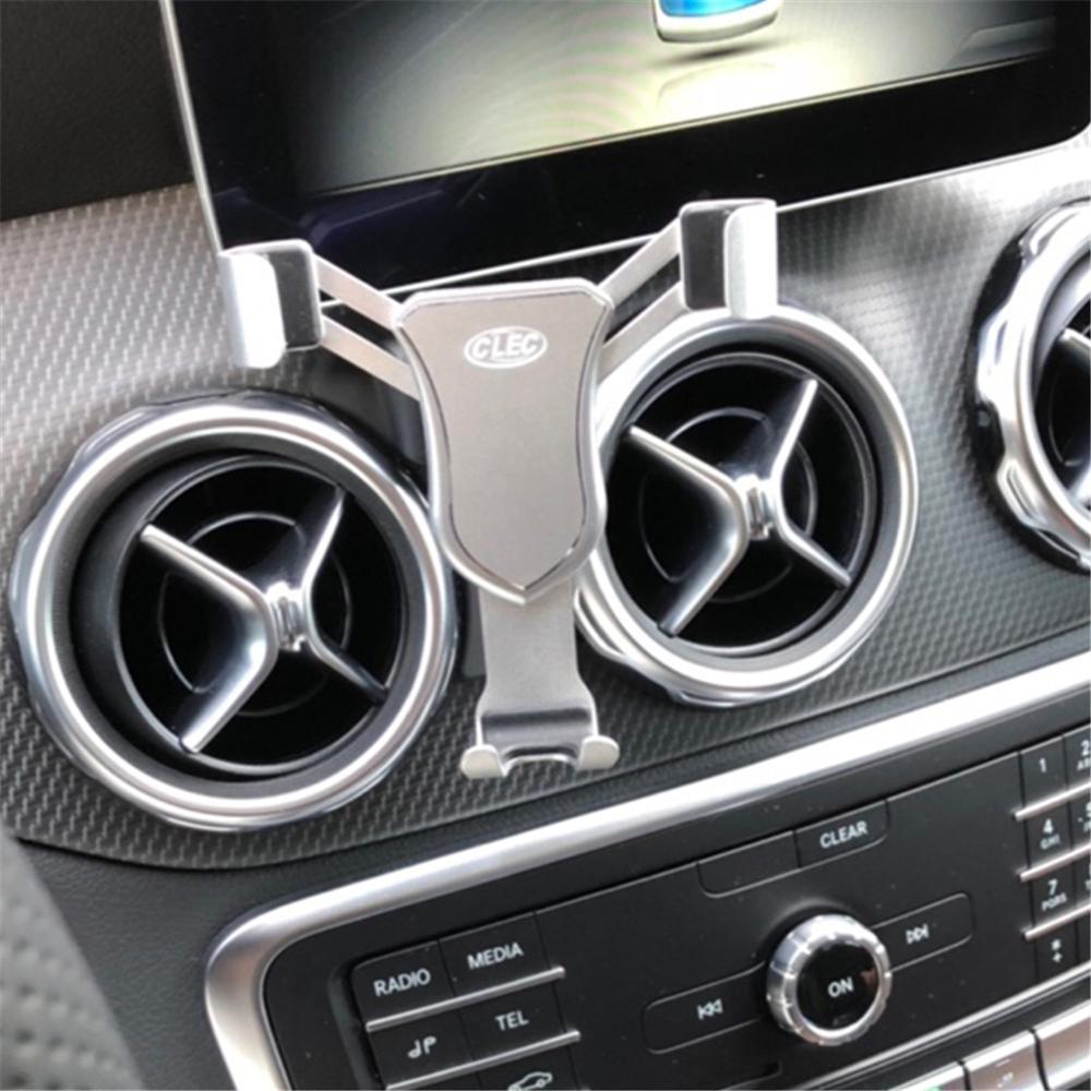 Держатель для телефона для Mercedes Benz X156 GLA 2019 2018 крепление на вентиляционное отверстие держатель для телефона Подставка для Mercedes-Benz GLA 2016 2017 2018
