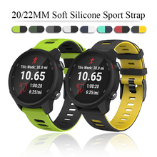 Strap For Huawei Watch GT 2/2e strap 42mm/46mm GT2/GT2e Sport Silicone bracelet 20mm/22mm band for Samsung Galaxy watch 42 46 mm