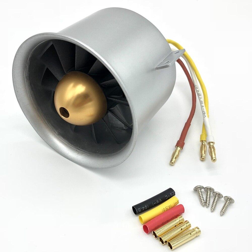 Freewing 80 مللي متر EDF 12 شفرة أنبوبي مروحة المعادن 3658 1857KV inrunner موتور استخدام لجميع 80 مللي متر ترقية النسخة freeshipping-في قطع غيار وملحقات من الألعاب والهوايات على  مجموعة 1
