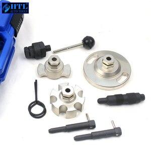 Image 5 - Motor Timing Nockenwelle Locking Alignment Entfernung Reparatur Werkzeug Für Touareg Audi A4/VAG 2,7 & Q7/3,0 Auto garage Werkzeuge