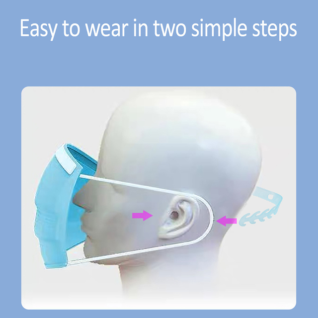 5Pcs Soft Face Mask Ear Hooks Buckle Kids Adjustable Earache Fixer Anti-Slip Mask Ear Grip Extension Hook Masks Buckle Holder 2