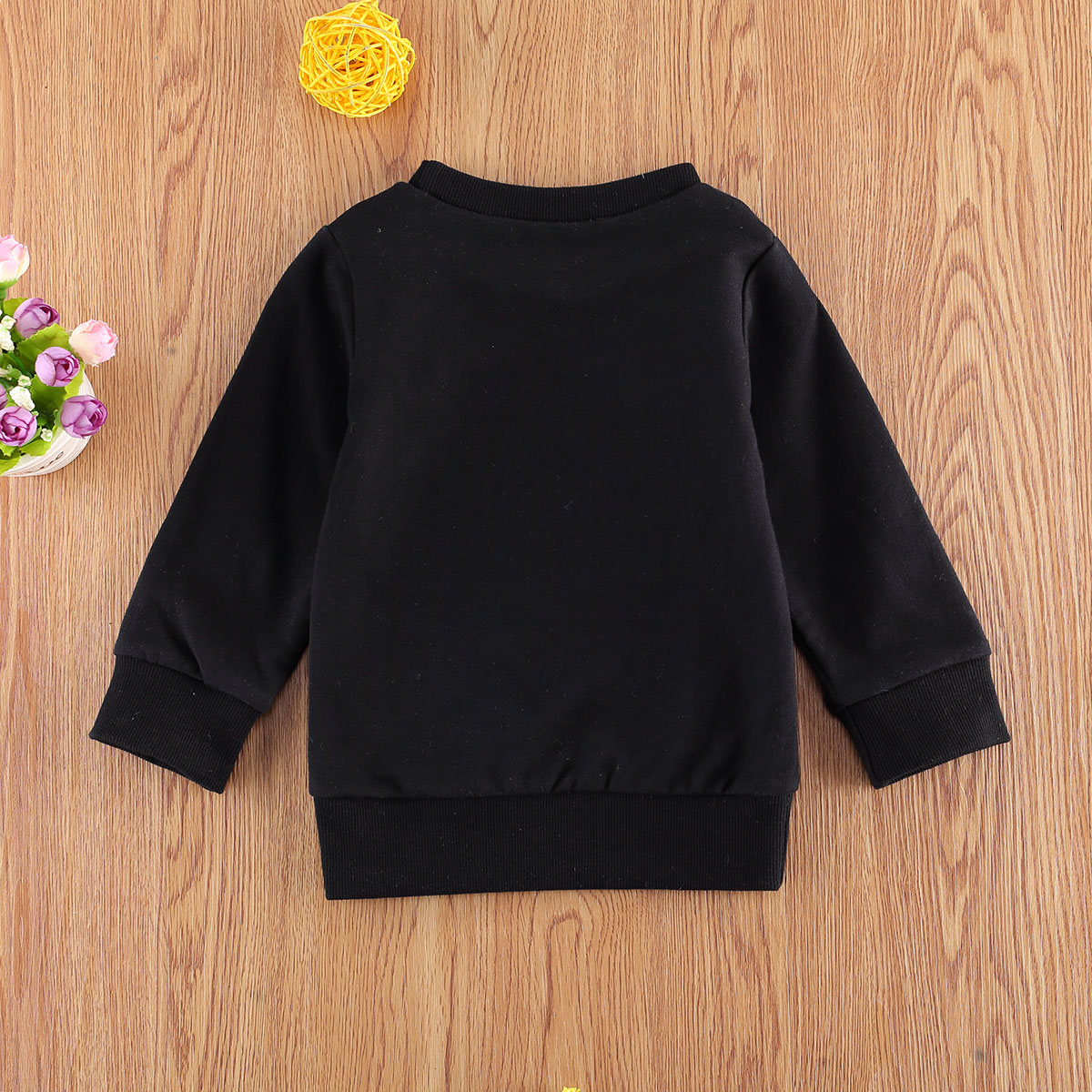 Pudcoco Newest Fashion Newborn Baby Clothes Long Sleeve Letter Print O-Neck Sweatshirt Tops Outfit Clothes For Girl Boy Bbay 4