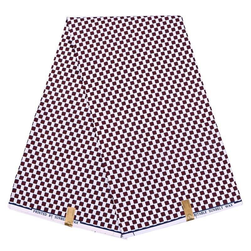 Best Quality Veritable Dutch Real Wax Veritable Wax African Ankara Printed Fabric 100% Polyester Nigeria Style Holland Fabric