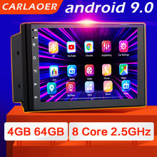 Android 9.0 2 Din Auto Radio Multimedia Video Player Universele Auto Stereo Gps Kaart Voor Volkswagen Nissan Hyundai Kia Toyota CR V