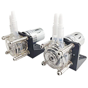 Image 2 - 12V/24V  High Flow Peristaltic Pump Tube Vacuum for Aquarium Lab Analytical Water