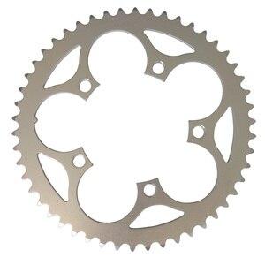 Цепная цепь TRUYOU, запчасти для дорожных велосипедов, шатун со звездами для велосипеда, цепь 110BCD 34T 36T 38T 39T 42T 48T 50T 53T Серебристая цепочка с ЧПУ