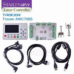 Image 3 - Заменяемая система управления с ЧПУ для режущего оборудования, запасные части, CO2 Лазерная плата управления 708S