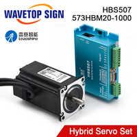 Leadshine HBS507+573HBM20-1000 Nema23 3 Phase Hybrid Servo Closed Loop