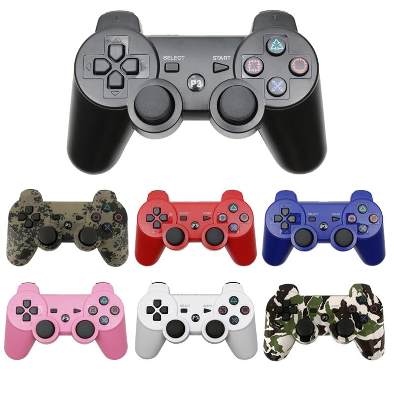 Беспроводной Bluetooth геймпад для PS3, контроллер для ПК, SONY, PS3, Playstation 3, джойстик, аксессуары