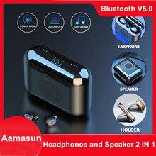 G6 наушники-вкладыши TWS Bluetooth наушники 9D беспроводной динамик F9 спортивные наушники с шумоподавления дисплей наушники с микрофоном для Iphone ...
