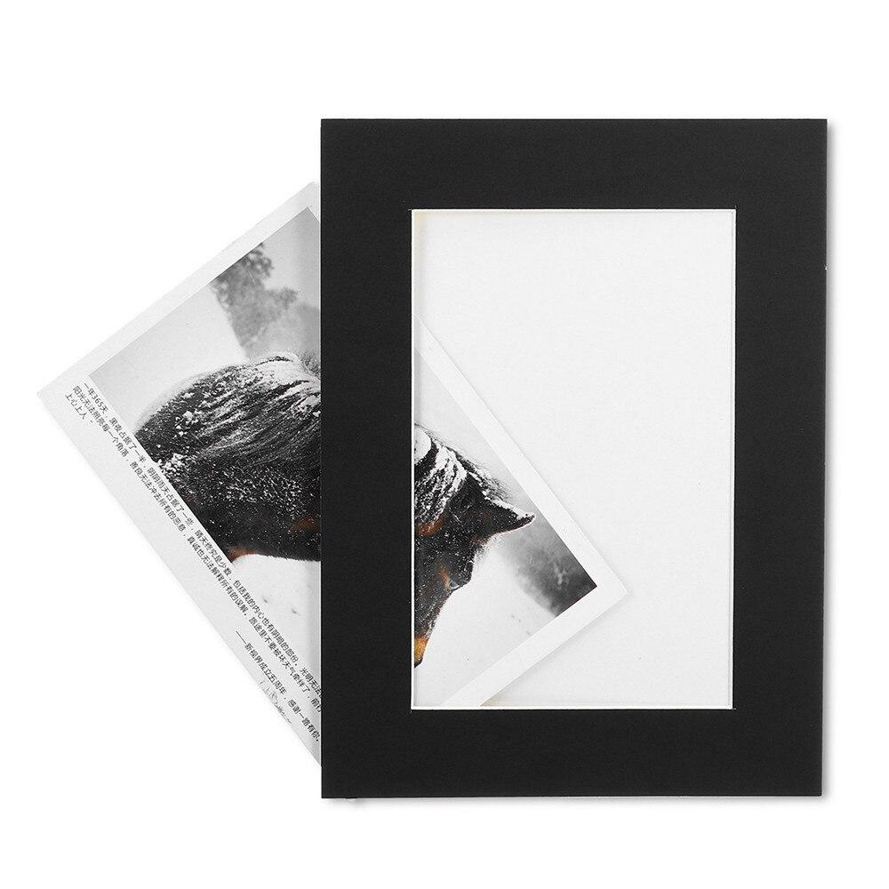 21 шт./компл. черный и белый DIY Комбинации Бумага фоторамка настенные Гостиная Спальня Съемная забавная рамка для фотографий - 4