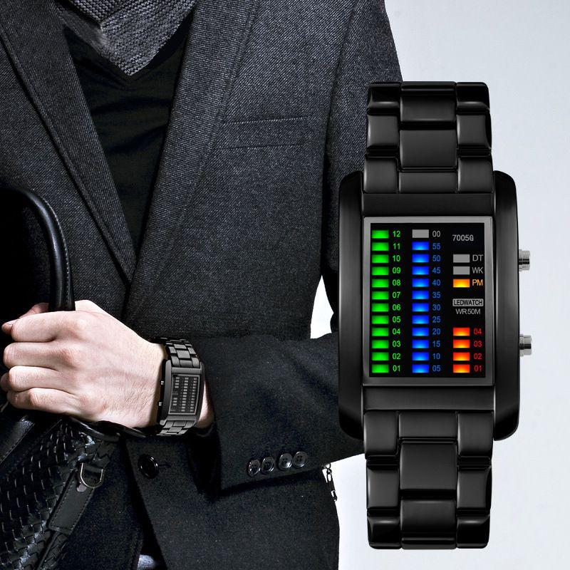 MM Digital Watch Men Women Lovers Sport Fashion Couple Clock Watches Top Brand Luxury Alloy Strap Couple Unisex Reloj Hombre
