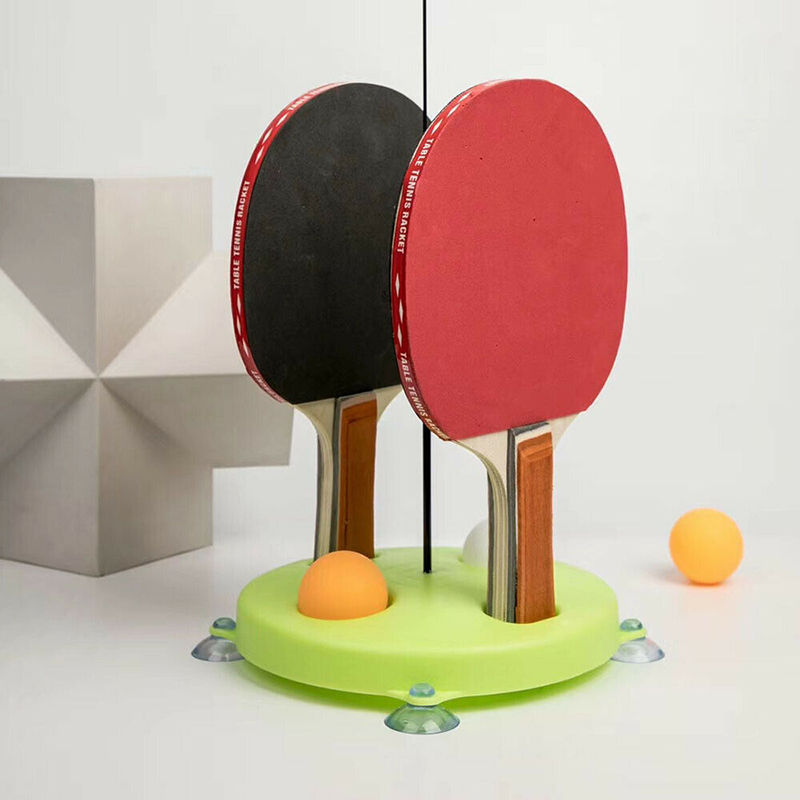 Indoor Outdoor Table Tennis Trainer Ping Pong Training Fixed Rebound Exerciser Kid Adult Ping Pong Practice Trainer