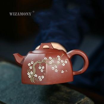WIZAMONY Yixing Clay Teapot Manufacturers Direct Selling Raw Ore Dahongpao Tea Tea Set Wholesale Gift Customization Tea Pot