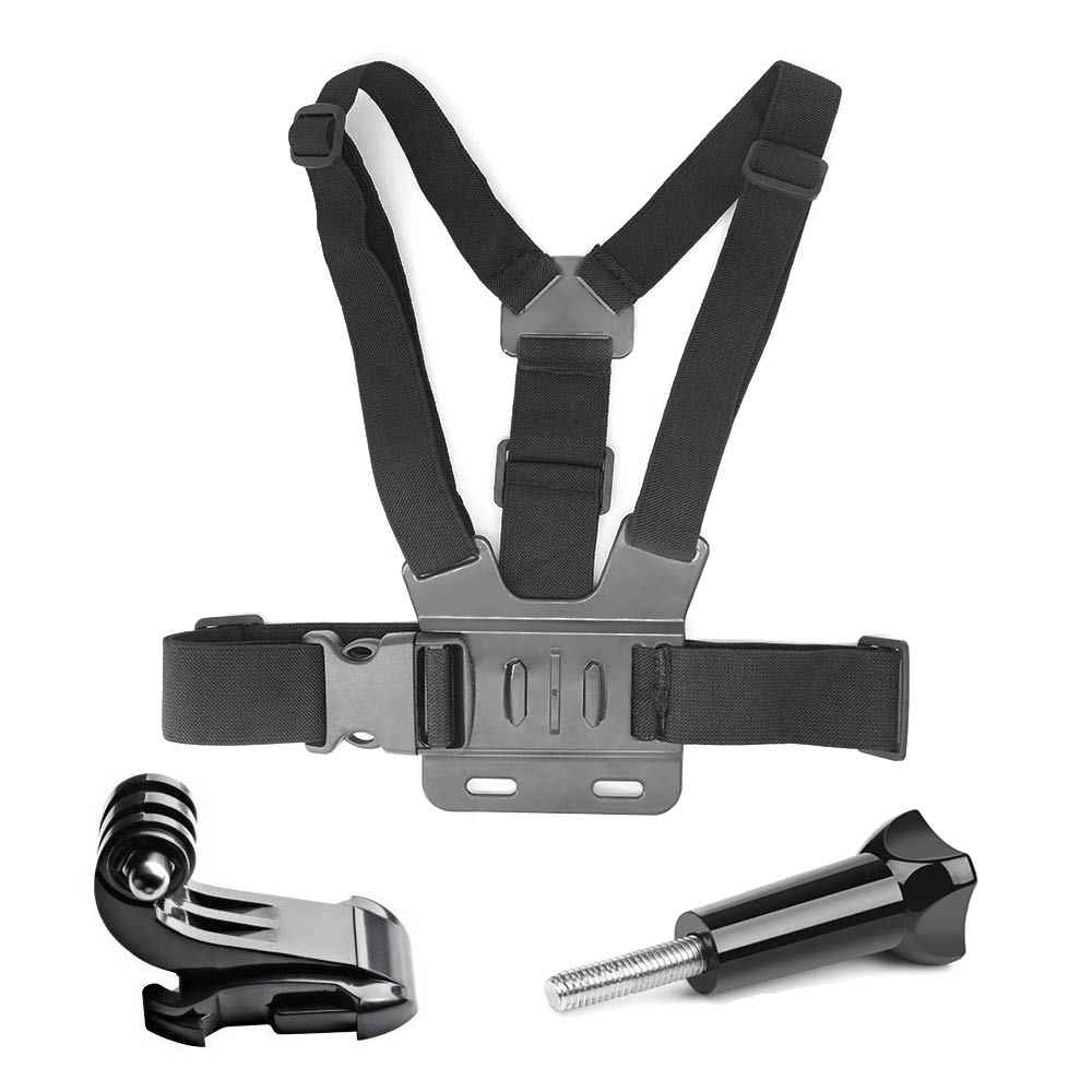 Go Pro Accessories For Gopro hero7 6 5 4 3+ Action Sport Camera Chest Head Hand Wrist Strap For Xiaomi yi 4k Eken Car Supction