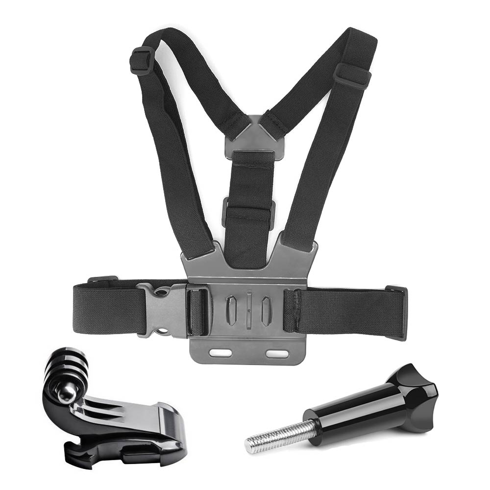 Go Pro Accessories For Gopro hero7 6 5 4 3+ Action Sport Camera Chest Head Hand Wrist Strap For Xiaomi yi 4k Eken Car Supction(China)