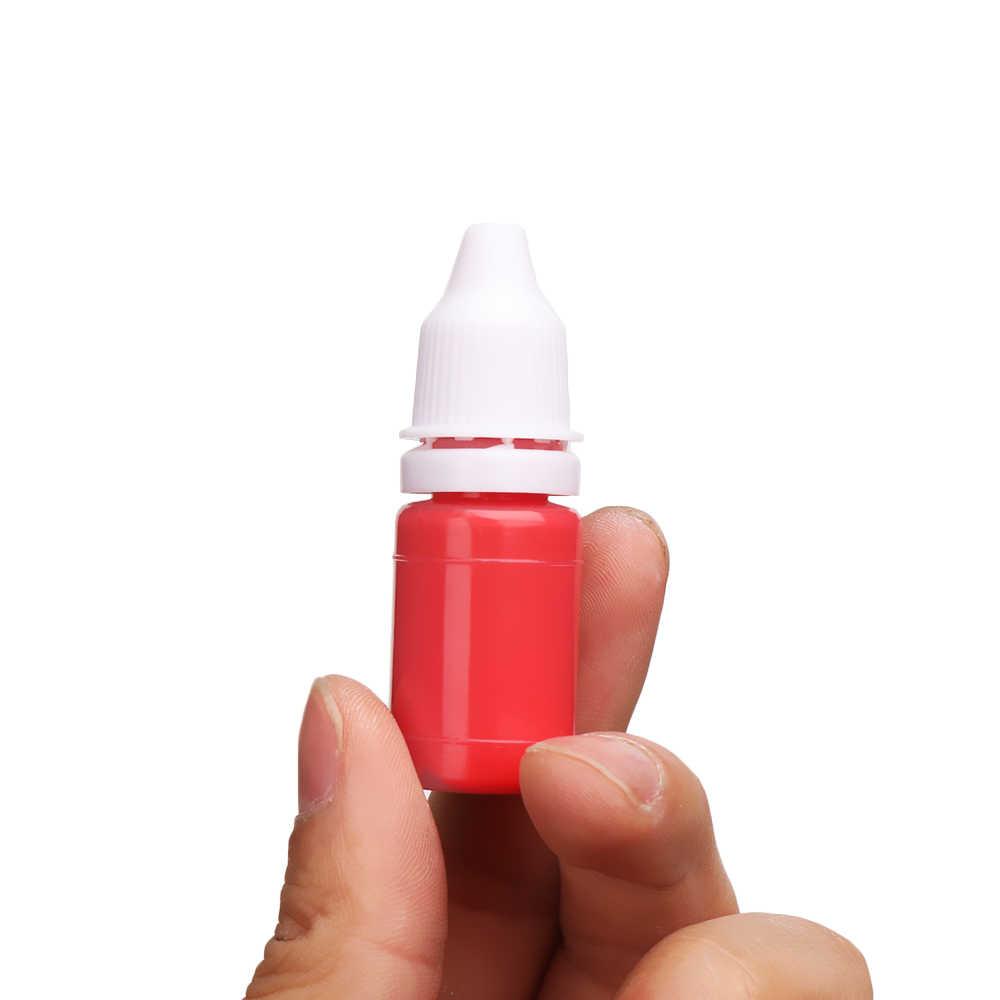 1 Pza 10ml colorido Flash recarga tinta entintado sello fotosensible sello aceite para madera boda Scrapbooking hacer sello escuela suministros