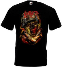 Slayer - poster v10 T shirt black trash heavy metal all sizes S-5XL(China)