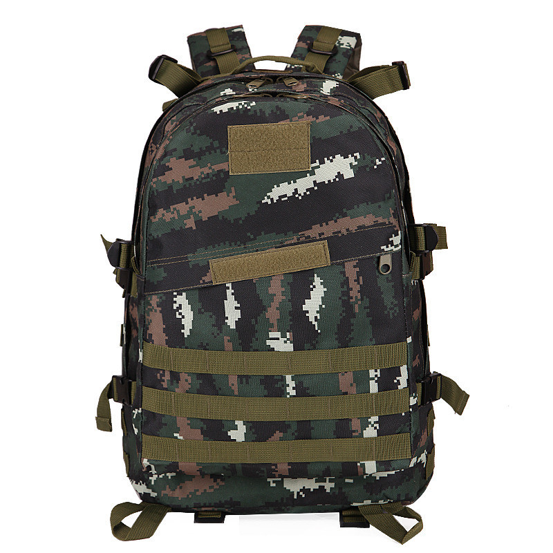 Jedi Survival Chicken Bag Level Three Backpack Multi-functional 3D Backpack 3-Day Attack Packets 40L Camouflage Tactical Backpac