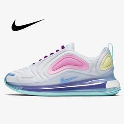 Женские кроссовки для бега Nike Air Max 720, дышащие спортивные кроссовки, удобная модная легкая обувь, AR9293-102, 2019