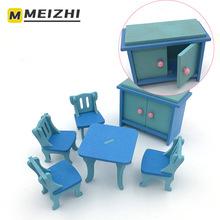 MEIZHI symulacja mały sprzęt agd zabawki mini drewniany sprzęt agd dzieci udawaj że bawią się zabawki domowe tanie tanio Drewna CN (pochodzenie) F1-219 13-24 miesięcy Meble zabawki zestaw
