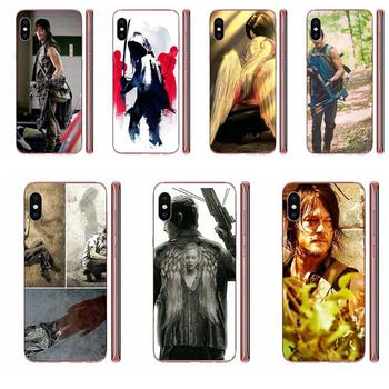 Darly Dixon The Walking Dead Zombies For Sony Xperia Z Z1 Z2 Z3 Z4 Z5 compact Mini M2 M4 M5 T3 E3 E5 XA XA1 XZ Premium image