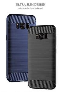 Image 5 - Funda de silicona para teléfono Samsung Galaxy S8 Plus, funda de fibra de carbono suave, parachoques galays8 S 8 S8Plus 8 Plus SM G950F G955F SM G950