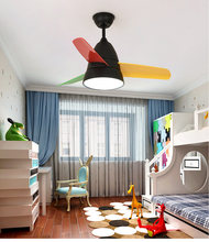 36 дюймов светодиодный потолочный вентилятор люстра светильник