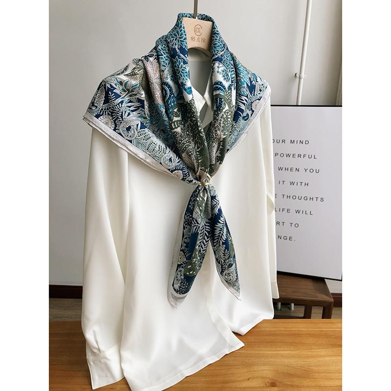 Stunning-Blue-Prints-100-Silk-Scarf-Hijab-Head-Scarves-for-Women-Fashion-Scarves-Shawl-Foulard-35 (3)