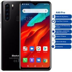 Смартфон Blackview A80 Pro, 4 Гб + 64 ГБ, Android 9,0, Восьмиядерный, мобильный телефон, 6,49 дюйма, 4G, глобальная версия