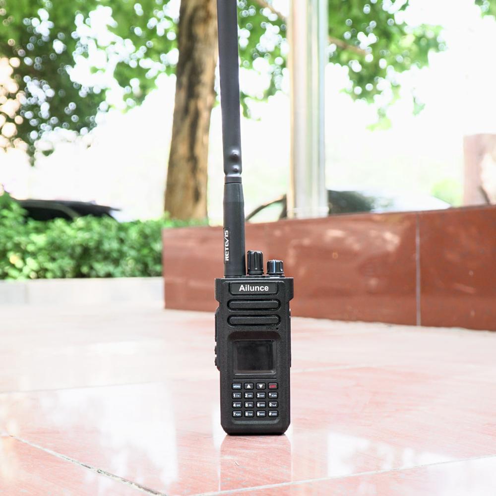 Retevis Black HA02 VHF&UHF High Gain 5dBi SMA-F Fold Antenna