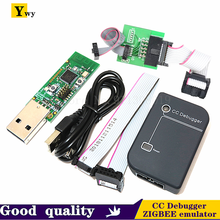 CC Debugger ZIGBEE Emulator CC2531 CC2540 Sniffer Wireless Board Bluetooth 4.0 Dongle Capture USB Programmer Downloader Cable