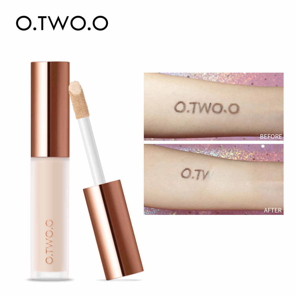 O.TWO.O Vloeibare Concealer Crème Waterproof Volledige Dekking Concealer Langdurige Gezicht Littekens Acne Cover Glad Hydraterende Make-Up