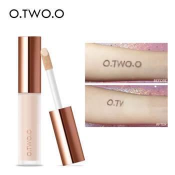 O.TWO.O corrector líquido crema impermeable cobertura completa corrector de cicatrices de cara de larga duración cubierta de acné maquillaje hidratante suave