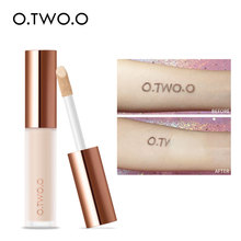 O.TWO.O Liquid Concealer Cream Waterproof Full Coverage Concealer Long Lasting Face Scars Acne Cover Smooth Moisturizing Makeup o two o foundation liquid concealer cream waterproof full coverage concealer long lasting face scars acne moisturizing makeup