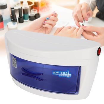 nail art sterilizer box uv ozone disinfection cabinet nail art tool box nail art sterilizer boxes 6w Nail Art Sterilizer Box UV Ozone Disinfection Cabinet Nail Art Tool Box Nail Art Sterilizer Boxes 6W