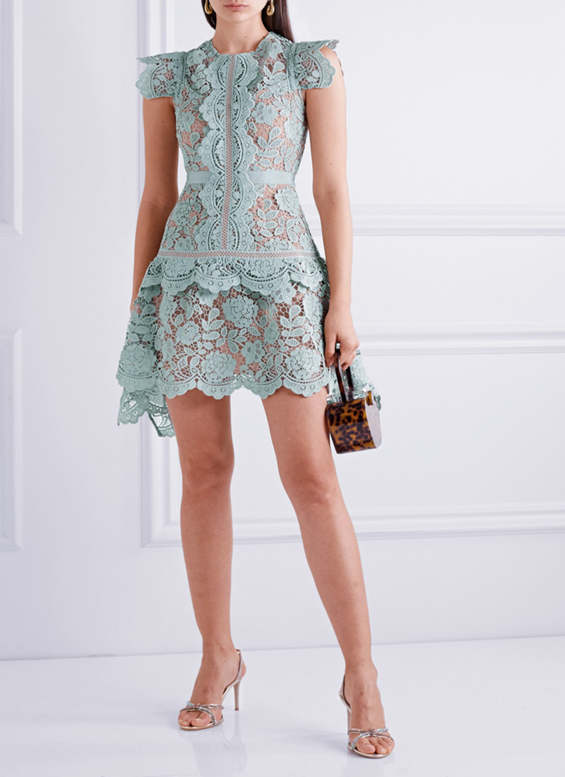 2020 New Arrive High Quality Light Blue Dress