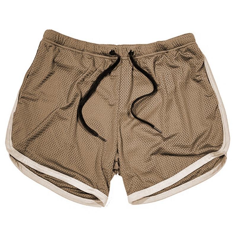 Running Shorts Men Gym Fitness Training GITF Quick Dry Beach Short Pants Male Summer Sports Workout Fitness Bottoms 11